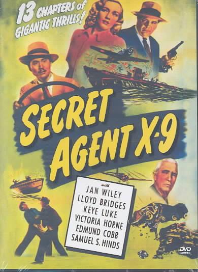 SECRET AGENT X-9 BY BRIDGES,LLOYD (DVD)